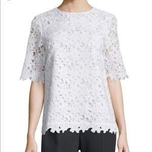 Kate Spade New York Floral Lace Top Size 12
